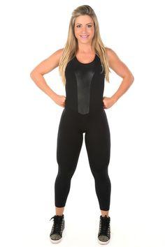 Dani Banani Moda Fitness - macacao-cruzado-preto-cirre produto 3101 macacao