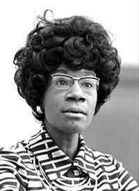 Shirley St. Hill Chisholm received the LL.D. during the 1983 Howard University Commencement as she served as Commencement Speaker.