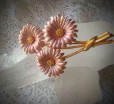 Vintage Enamel Flower Brooch   Jewelry & Watches, Vintage & Antique Jewelry, Costume   eBay!