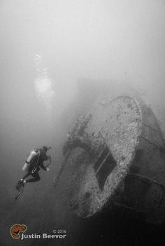 Wreck of Thistlegorm Stern, Ofira, Egypt