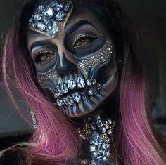 Day of the dead gone glam