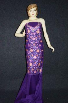 Kashmiri Thread Embroidered SPUN Salwar Kameez Suit Fabric C0592