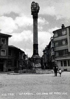 Kıztaşı (The Column of Marcian) Istanbul, Byzantine, Once Upon A Time, Cn Tower, Archaeology, History, Building, Photography, Travel