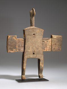 Mossi door lock, Burkina Faso  AMNH