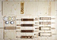Les rouleaux à fantaisies de David Fabio Colaci sur www.milkdecoration.com