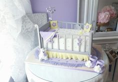 3d Crib cake by Cakery Creation Liz Huber