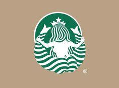 The back of 'Starbucks'.