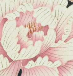 detail of silk furisode, Late Meiji to mid-Taisho (1890-1920).  Yorke Antique Textiles