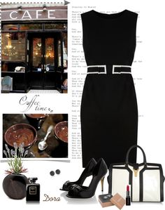 """""""Coffee Time"""" by dora664 ❤ liked on Polyvore"""