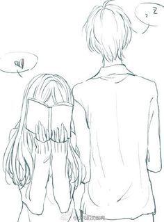 1231b727476e6f459d0d4736ec3dd292 Jpg 236 319 Desenhos De Casais Anime Desenhos De Amor Tumblr Casal Anime