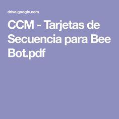 CCM - Tarjetas de Secuencia para Bee Bot.pdf Cards