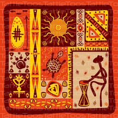 Free classical tribal totem vector 4 image in encapsulated postscript . Arte Tribal, Tribal Art, Kunst Der Aborigines, Afrique Art, African Textiles, Illustration, African Masks, Indigenous Art, African Design