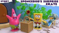 Spongebob Squarepants Play Doh Funny Prank Story Surprise Crate Episode ...