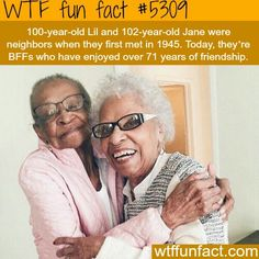 That is incredible! What an amazing friendship!