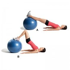 gymball - musculation bras | swiss ball | Pinterest | Bas