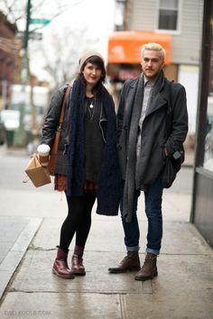 Grunge Street Style: 2012