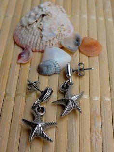 Brincos Estrela do Mar - Starfish Earrings | Beat Bijou | Elo7