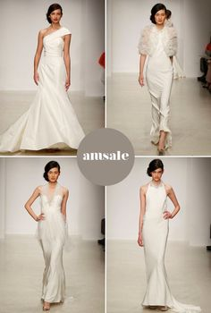 amsale spring 2013 - dying for the dress in the top left
