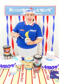 DIY Stranger Things Scoops Ahoy Ice Cream Party!