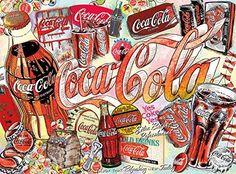 Coca-Cola: Enjoy Coca-Cola - Jigsaw Puzzle by Buffalo Games Coca Cola, Buffalo Games, Vintage Coke, Tola, Puzzle Toys, Puzzle Games, Picture Puzzles, Classic Image, African Culture
