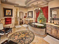 Lavish Master Suite Spa-Like Bathroom!