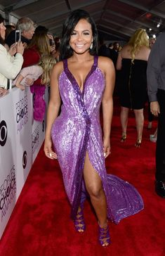Christina Milian, Microsoft, Sequin Gown, Prom Dresses, Formal Dresses, Black Girl Fashion, People, Sequins, Dope Swag