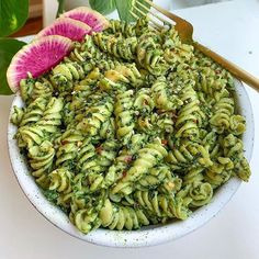 I've been meaning to use pistachios in my pesto for a long time and today was the day! This pesto is so easy, so… Meat Recipes, Asian Recipes, Gourmet Recipes, Vegetarian Recipes, Cooking Recipes, Healthy Recipes, Ethnic Recipes, Healthy Food, Brisket Marinade