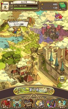 Screenshot_2016-05-22-16-12-50                                                                                                                                                     もっと見る Map Games, Board Games, Game Mobile, Pixel Art, Game Gui, Game Ui Design, Game Props, Game Interface, Japanese Games