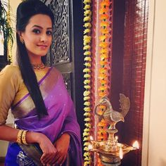 tv serial actress in handloom saree - Google Search
