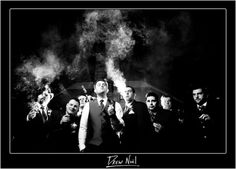 Fave Wedding Photo Scenes You Want to Do on Your Wedding Day! - SHARE 'EM :  wedding bridal party bride camera day groom love photos pictures wedding Groomsmen