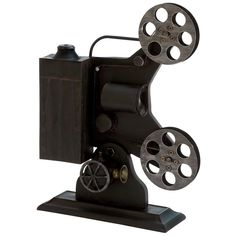 Vintage Inspired Movie Reel for the movie room....