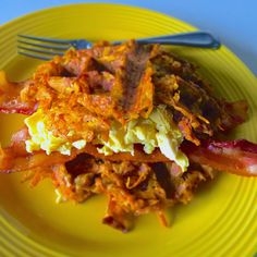 X.O.happyhealthyfoodie: Sweet Potato Hash Brown Waffles