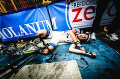 Degenkolb's fatigue after winning the 5th. stage in Giro 2013.   https://www.facebook.com/photo.php?fbid=10151437320703247