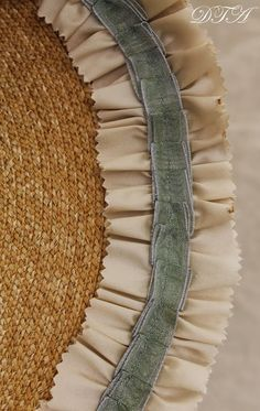 decorated bergere hat - Google Search