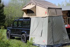 Marant's exclusive Roof Rack and Tuff Trek tent package