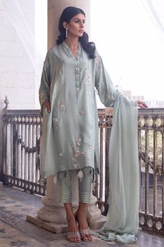 Thing 1, New Launch, Indian Suits, Green Fabric, Sleeve Styles, 1 Piece, Custom Made, Shirt Style, Designer Dresses
