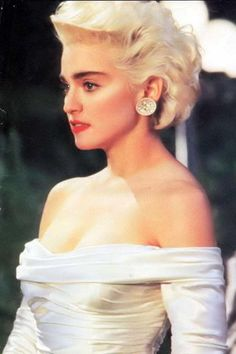 Madonna in Who's That Girl movie.Omg seriously in my top 3 movie's.just got it on DVD this year because my vhs finally died
