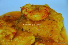 Cocina – Recetas y Consejos Fish Recipes, Seafood Recipes, Mexican Food Recipes, Great Recipes, Healthy Recipes, Ethnic Recipes, Recipies, Spanish Dishes, Spanish Food