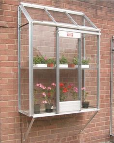 It your home hasn't got space for a standard-size greenhouse, then consider this window garden from UK-based Elite Greenhouses. Made of full-sheet toughened glass and alloy, it is a wall-mounted box that will work equally well on a balcony, patio or wall – any corner of your property that gets the sun. elite-greenhouses.co.uk