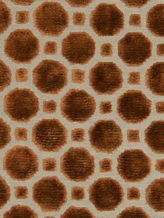 Orange Upholstery Fabric  Velvet Designer by greenapplefabrics, $39.00