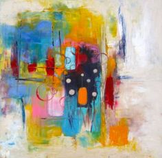 "Saatchi Art Artist Terrie Boruff Yeatts; Painting, ""The Perimeters Fit You"" #art"