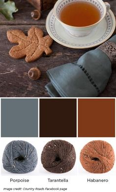 City Tweed Cookies - Favorite Fall Colors - blog.knitpicks.com/weblog/favorite-fall-colors/