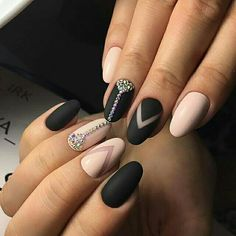 By # shellac # idemanicure # manicure # design nails # trendnails nailstrends. Pretty Nail Colors, Pretty Nails, The Art Of Nails, Nail Games, Colorful Nail Designs, Beautiful Nail Art, Almond Nails, Perfect Nails, Cool Nail Art
