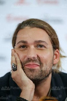 MOSCOW, RUSSIA. NOVEMBER 19, 2013. German violinist David Garrett playing the violin during a press conference ahead of the Russian premiere of The Devil' s Violinist film directed by Bernard Rose.