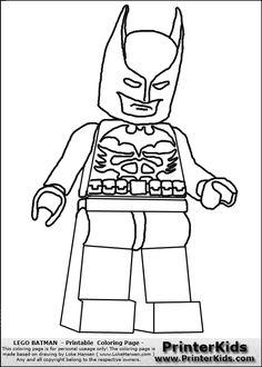 Batman Coloring Page COLORING