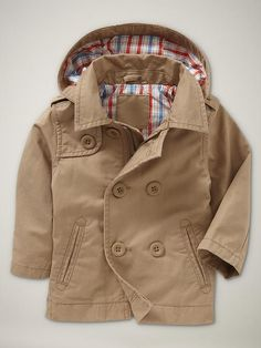 What baby boy doesn't need a trench?