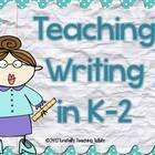 Just add students and you are ready for a year's worth of writing lessons!   Do you think rubric is a bad word?  Does teaching writing keep you up ...