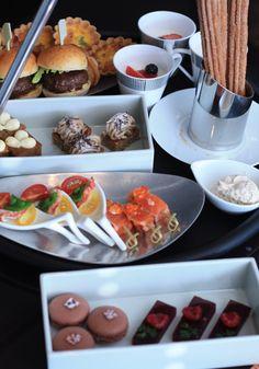 High tea at Four Seasons Hotel