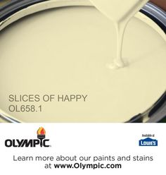 SLICES OF HAPPY OL658.1 is a part of the greens collection by Olympic® Paint.
