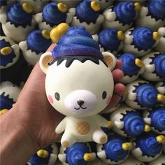 Lucoo 4//7//10cm Scented Squeeze Toys for Kids Squishy Toy Kawaii Mochi Panda Squishies Slow Rising Mini Stress Reliever Simulation Toy Adult Anxiety Squishys Gifts Random, 4cm